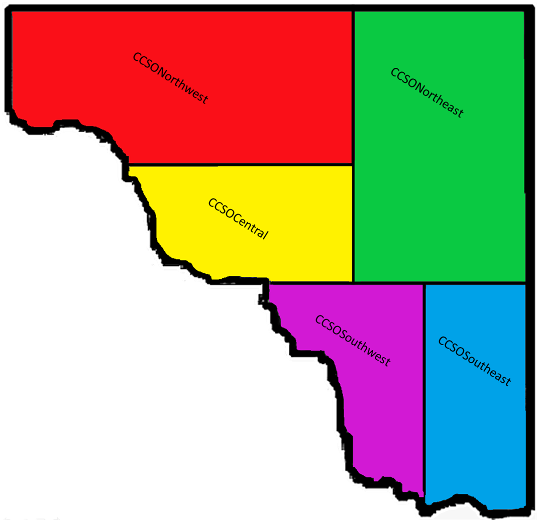 Districts Mapping with Names